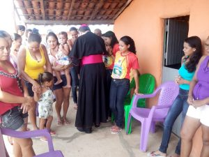 Visita Pastoral à Cidade de Cabrobó-PE_Ida de Dom Magnus às Comunidades de Pinhões,  Santa Cruz,  Murice novo,  Murice velho e boa esperança... - 1