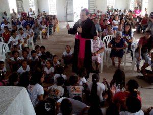 Visita Pastoral à Cidade de Cabrobó-PE_Ida de Dom Magnus às Comunidades de Pinhões,  Santa Cruz,  Murice novo,  Murice velho e boa esperança... - 135