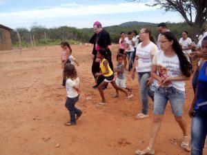 Visita Pastoral à Cidade de Cabrobó-PE_Ida de Dom Magnus às Comunidades de Pinhões,  Santa Cruz,  Murice novo,  Murice velho e boa esperança... - 62
