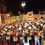 Missa de Envio da Segunda Turma de Missionários Lotou a Praça da Catedral em Salgueiro