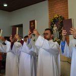Seminaristas da Diocese de Salgueiro Receberam Ministério de Leitor em Missa Solene em Caruaru-PE