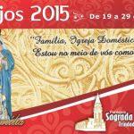 Programação da festa da Sagrada Família, em Trindade – PE, de 19 a 29 de setembro de 2015