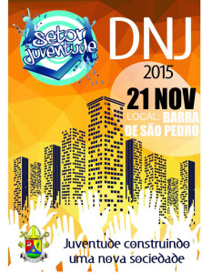 DNJ - BARRA DE SÃO PEDRO - 21 DE NOVEMBRO