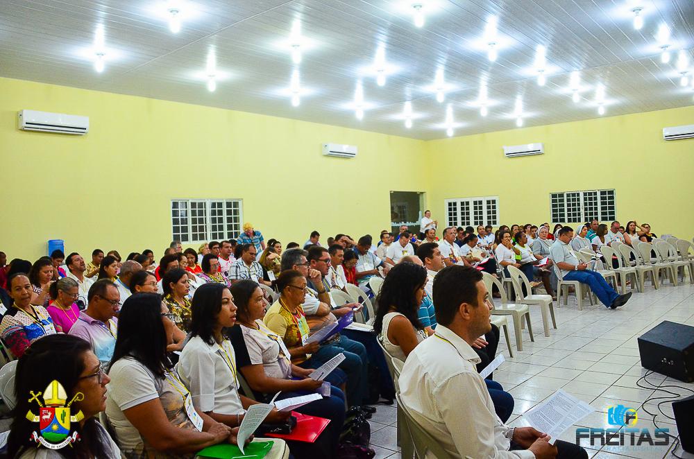 Abertura da V Assembleia Diocesana de Pastoral, em Bodocó.