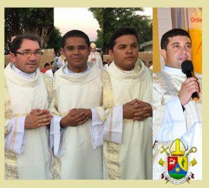 Diáconos da diocese de Salgueiro/PE
