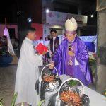 Missa de envio de missionários na Paróquia Nossa Senhora das Dores
