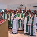 Clero da Diocese de Salgueiro realiza retiro em Aparecida (SP)