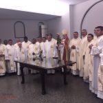 Dom Magnus, Bispo Diocesano de Salgueiro, recebe Imagem de Nossa Senhora Aparecida