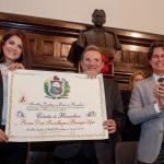 Dom Magnus Henrique Lopes recebeu o de Título de Cidadão Pernambucano
