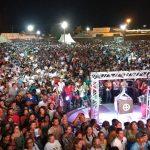 Evento foi o maior realizado pela Diocese desde a sua instalação e reuniu milhares de pessoas