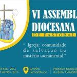 Diocese de Salgueiro realiza VI Assembleia Diocesana na Cidade de Granito (PE)